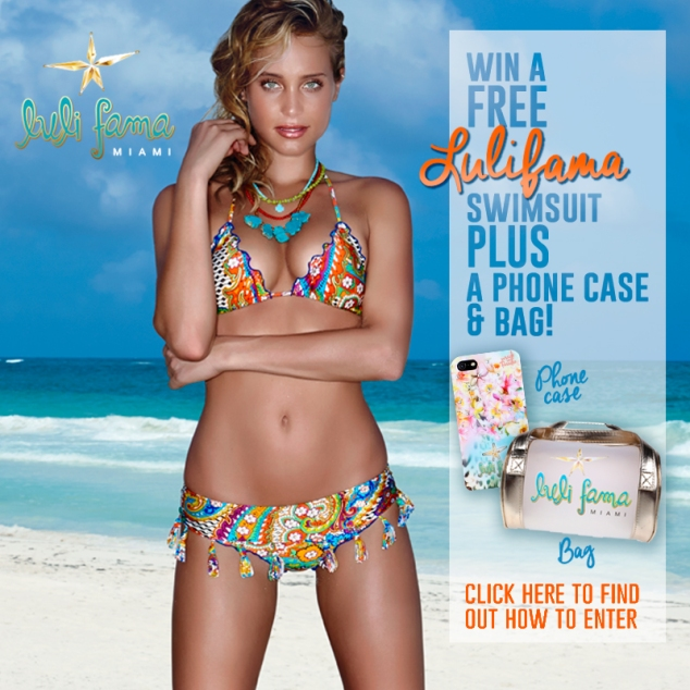 Enter to win a FREE Luli Fama swimsuit plus a phone case and bag!