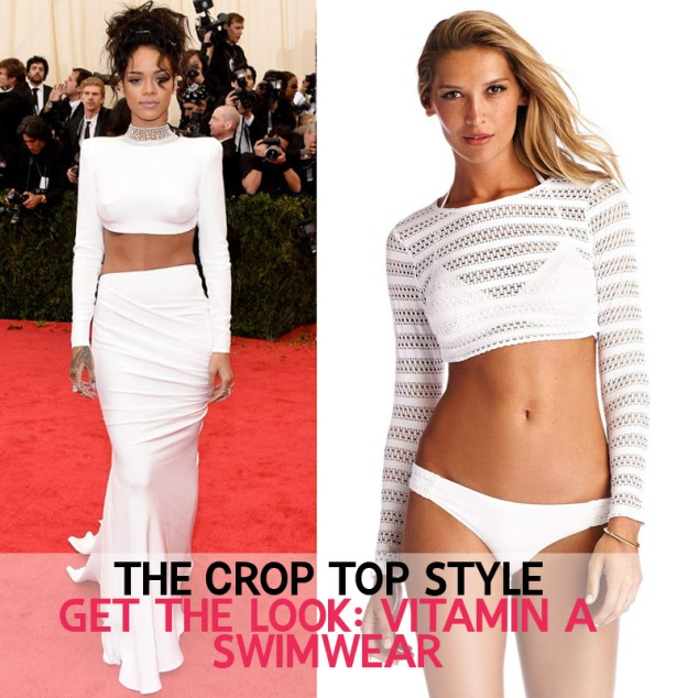 Shop the Vitamin A Crop Top look!