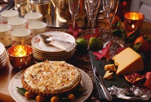 corbis_rf_photo_of_holiday_dessert_buffet