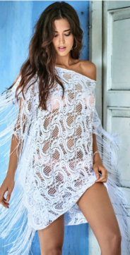 PilyQ Water Lily Natalia Cover Up // http://bit.ly/2mtbYpP