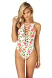 South Beach Swimsuits Montce Swim Austin Lace Up One Piece